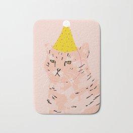 Party Cat Bath Mat