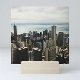 Chicago Aerial  Mini Art Print
