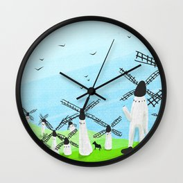 Don Quixote Of La Mancha Wall Clock