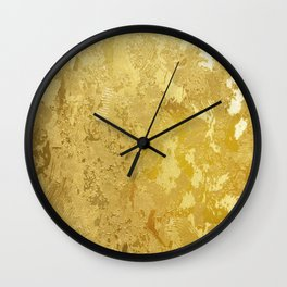 golden vintage Wall Clock