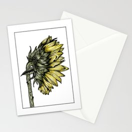 Bunch of sunflowers | perfectly placed in a pattern Stationery Cards