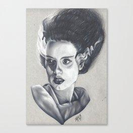 The Bride Has Died Canvas Print