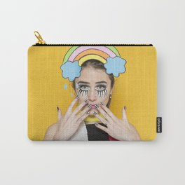 Pop Art Girl Photography Carry-All Pouch