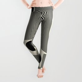 Abstraction_SUN_INFINITY_LINE_POP_ART_Minimalism_066A Leggings