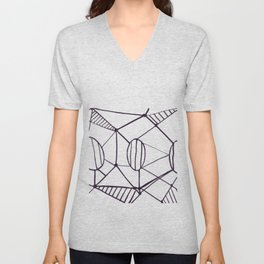 Pica_outline Unisex V-Neck