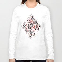 83 Drops - Diamonds (Red & Black) Long Sleeve T-shirt