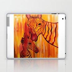 Orange Zebra Laptop & iPad Skin