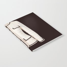 coco vintage black and white jacket Notebook