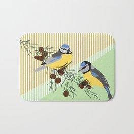 two birds in harmonie Bath Mat