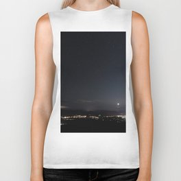Arizona Desert Night Sky Stars Biker Tank