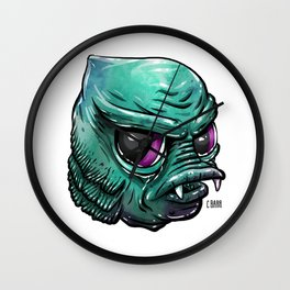 Baby From the Black Lagoon Wall Clock