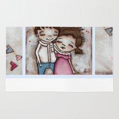 She Believed Him - by Diane Duda Rug