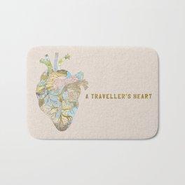 A Traveller's Heart (UK) Bath Mat
