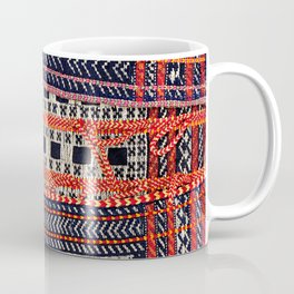 Qashqa'i Khorjin  Antique Fars Persian Bag Coffee Mug