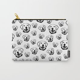 HAPPY CHRISTMAS GIFTS FOR THE LABRADOR DOG LOVER FROM MONOFACES IN 2021 Carry-All Pouch