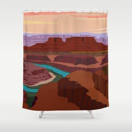 Magnificent Canyonlands National Park, Utah Shower Curtain