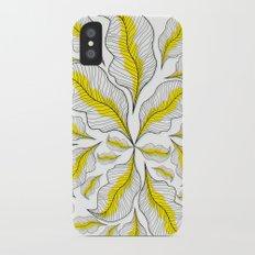 yellow---line Slim Case iPhone X