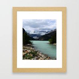 Lake Louise Impression Framed Art Print
