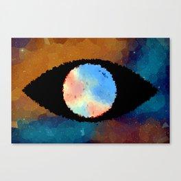 Eye Of The Beholder v2 Canvas Print