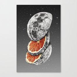 Lunar Fruit Canvas Print