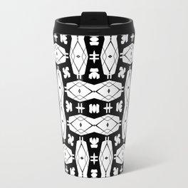 black weave Travel Mug
