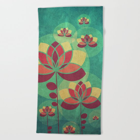 Fall is here II Beach Towel