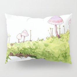 Mushrooms and Moss Pillow Sham