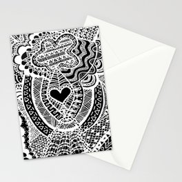 Love Doodle Stationery Cards