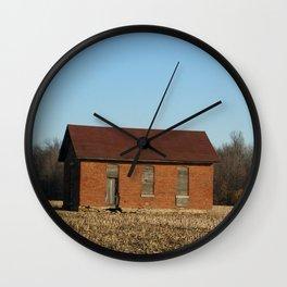 Little Lafayette Shed Wall Clock