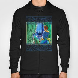 The Lady and the Peacock Hoody