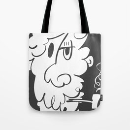 The Doodle Smoker Tote Bag