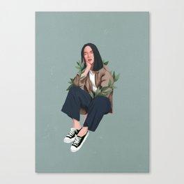 Daydreaming / Digital Illustration Canvas Print
