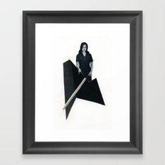 this modern world Framed Art Print
