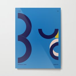 Buenos Aires — City Series Metal Print