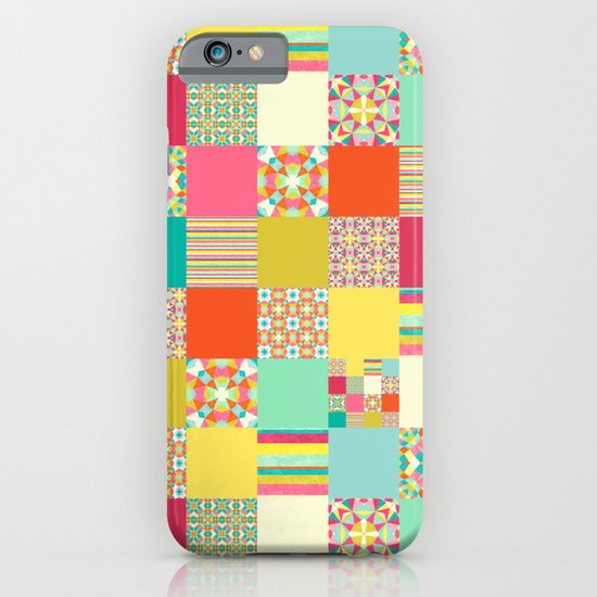 Patchwork Cheater iPhone & iPod Case