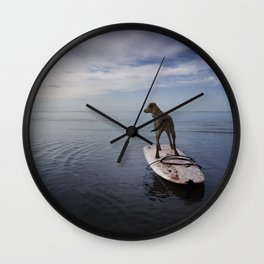 Owning the day. Wall Clock