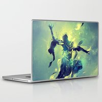 soul Laptop & iPad Skins featuring Soul by Pete Harrison