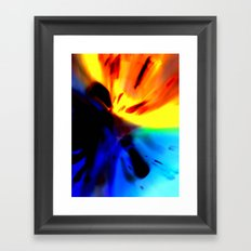 Macro_Exp Framed Art Print