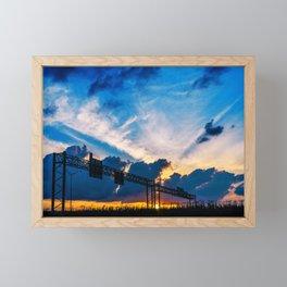 Austin Sunset Framed Mini Art Print