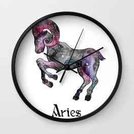Zodiac - Aries Wall Clock