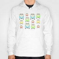 vans Hoodies featuring Camper Vans by Laura Maria Designs