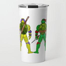 Superhero Butts - Turtles Travel Mug