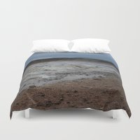 mars Duvet Covers featuring Mars by Lexi Colt