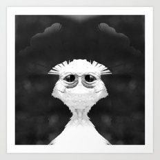 Weird in your Eyes Art Print