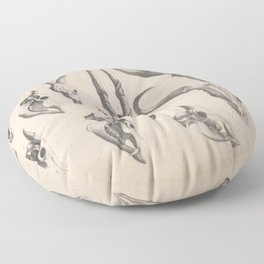 Antlers And Horns Floor Pillow