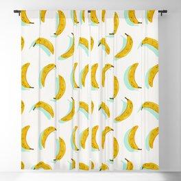 Banana Pattern – Mint Blackout Curtain