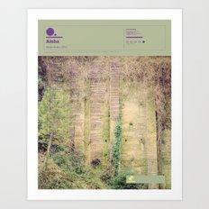 The Visual Mixtape 2010 | Home Acres | 22 / 25 Art Print