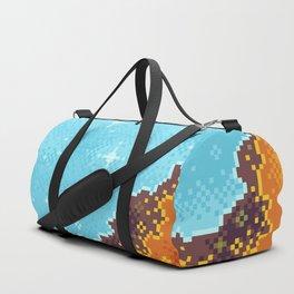 8bit Galaxy: Art Along #1 Duffle Bag