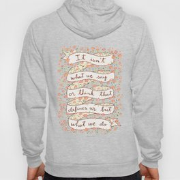 Sense and Sensibility quote Hoody