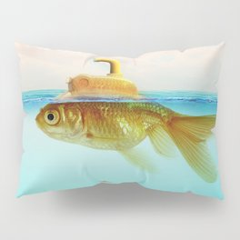 Submarine Goldfish Pillow Sham